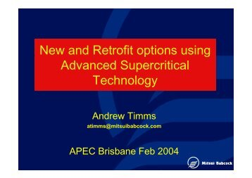 Upgrading and Retrofit Technologies for Conventional and ...
