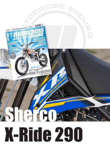 Test - Sherco X-Ride 290 / 2015