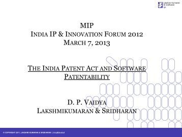 patentability of software in india and The indian patent office predicament over software patents continues the patent  office has issued another version of modified guidelines for.