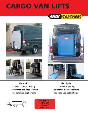 Interlift For Sprinter Flyer - Stonebrooke Equipment