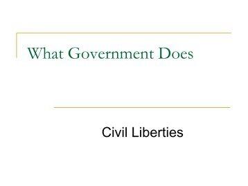 civil essay liberty