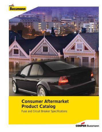 Consumer Aftermarket Product Catalog - Cooper Bussmann