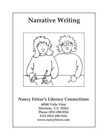 Steps to writing a narrative essay