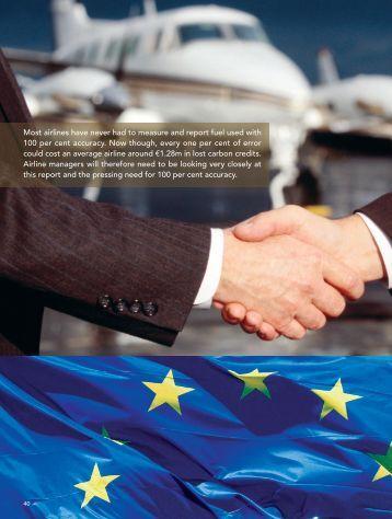 Emissions trading system aviation