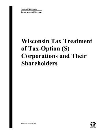 Tax treatment of stock options for corporations