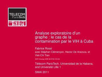 Analyse exploratoire d'un graphe : le cas de la contamination ... - SMAI