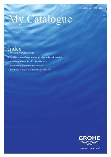 Technical Catalogue - Palimpsest