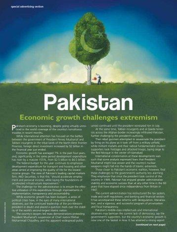 essay economy pakistan