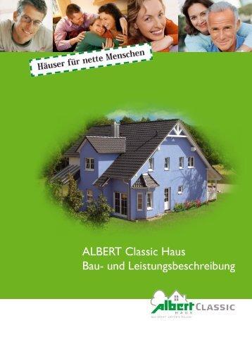 ALBERT Classic Haus Bau- und ... - Kowalski Haus