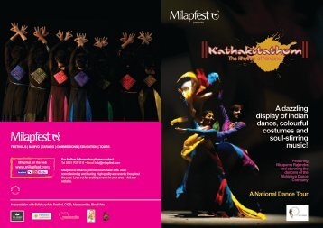 A dazzling display of Indian dance, colourful costumes and soul ...