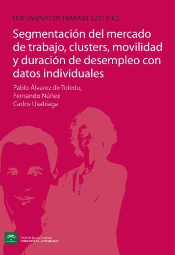 segmentación del mercado de trabajo, clusters, movilidad y ...