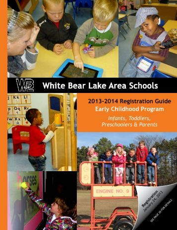 early childhood registration guide white bear lake area schools