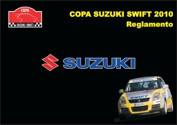 COPA SUZUKI SWIFT 2010 Reglamento