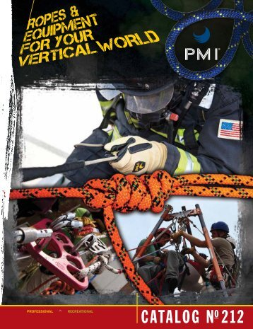 PMI Catalog 2012 (pdf) - Rescue Response Gear