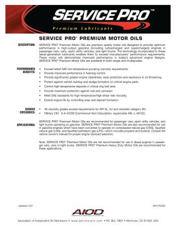 26 Commercial Engine Oils