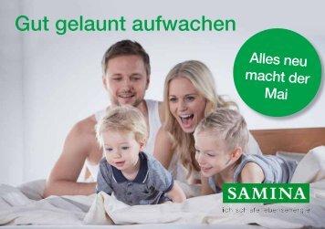SAMINA Schlaftipps - Gut gelaunt aufwachen