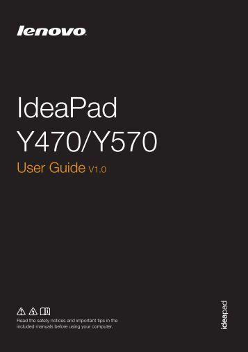 IdeaPad Y470/ Y570 - Lenovo