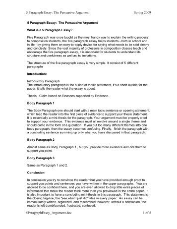 five paragraph essay notes For example, if you are writing about a place, go there and take notes on the sights, sounds, and smells  five-paragraph essay project: thesis,.