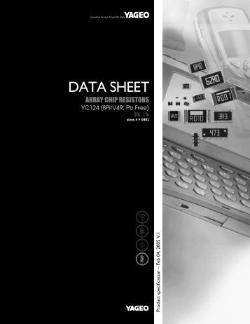 Datasheet - Yageo