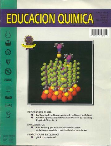Educación Química, vol. 08, núm. 3 - Coordinación de Actualización ...