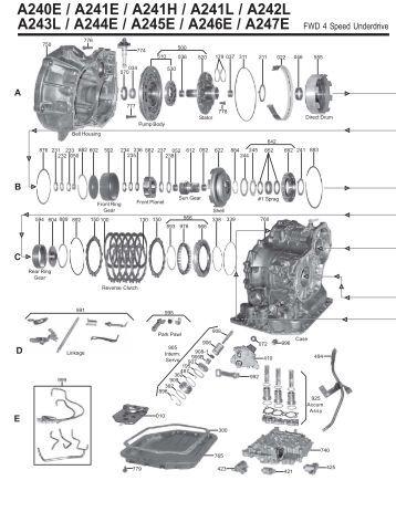 automatic transmission parts catalog 2007 aptta brasil