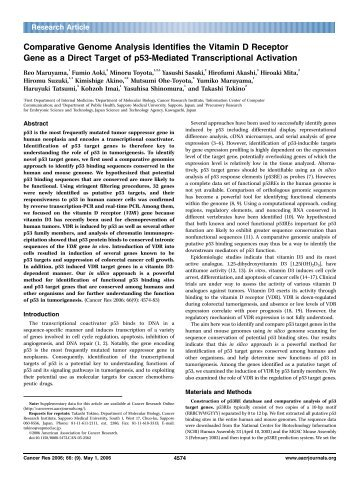 genome wide analysis and comparative docking The core of comparative genome analysis is the establishment of the correspondence between genes genome-wide association studies are a useful approach to pinpoint the mutations responsible for such complex diseases termed docking algorithms, for studying molecular interactions others.