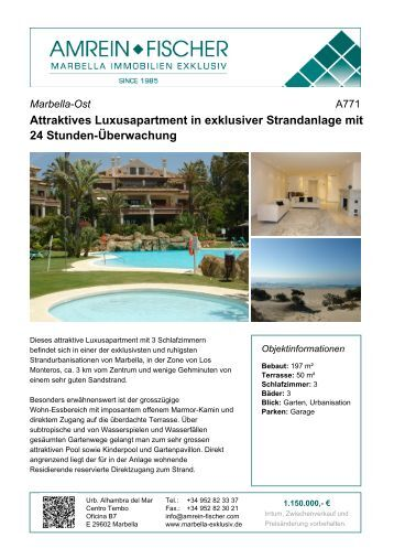 Attraktives Luxusapartment in exklusiver Strandanlage mit 24 ...