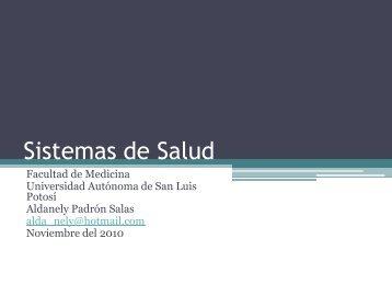 Sistemas de Salud - eVirtual UASLP - Universidad Autónoma de ...