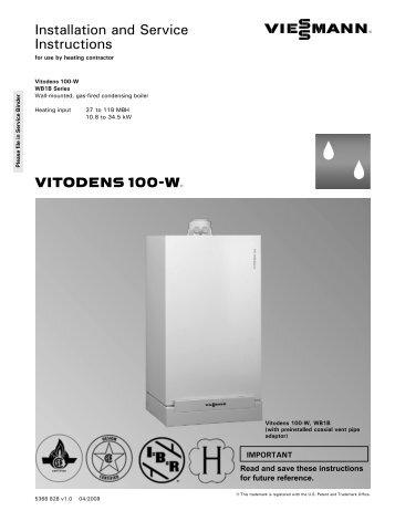 viessmann vitodens 100 vudotilar. Black Bedroom Furniture Sets. Home Design Ideas