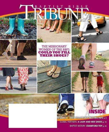 We - Baptist Bible Tribune