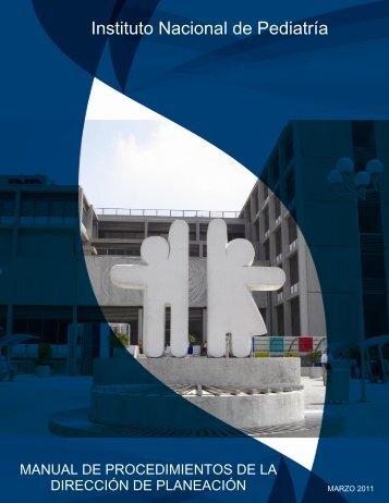 Manual de Procedimientos de la Dirección de Planeación - Instituto ...