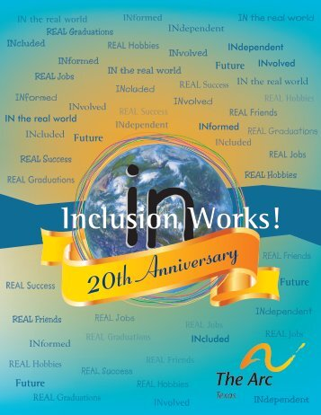 2013 Inclusion Works! Conference Program ... - The Arc of Texas