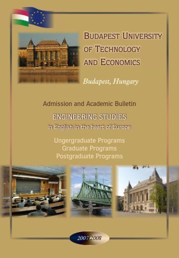 Academic Bulletin - International Degree Programs in Hungary