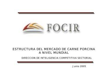 estructura del mercado de carne porcina a nivel mundial - FOCIR