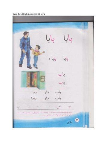 Basra ilkokul kitabı 2.bölüm 26-50 sayfa - gariban tavuk