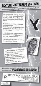 BOTSCHAFT VON OBEN! ACHTUNG - dioezesanmuseum.at - Seite 2