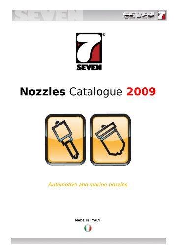 Nozzles - SEVEN DIESEL SpA