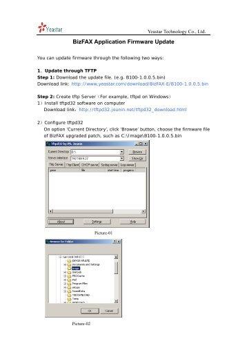 BizFAX - Firmware Update - Yeastar