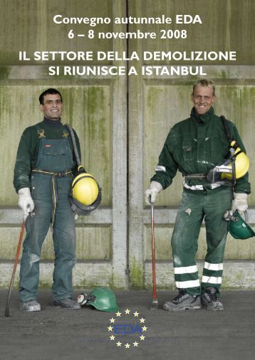 Convegno autunnale EDA 6 - European Demolition Association