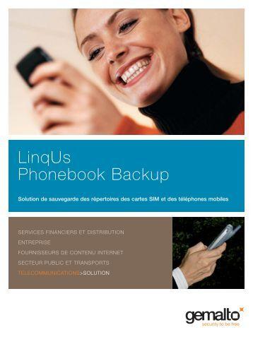 LinqUs Phonebook (Francais) - Gemalto