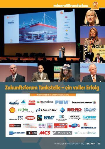 Zukunftsforum Tankstelle – ein voller Erfolg