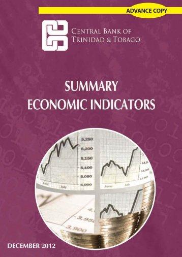 December - Central Bank of Trinidad and Tobago