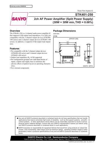 stk401-250 - audio lab of ga