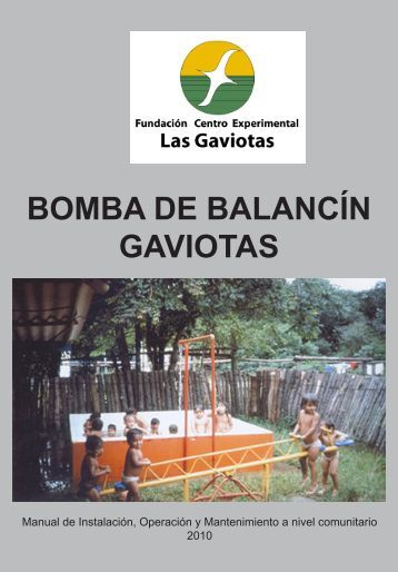 Manual Bomba de Balancín GAVIOTAS