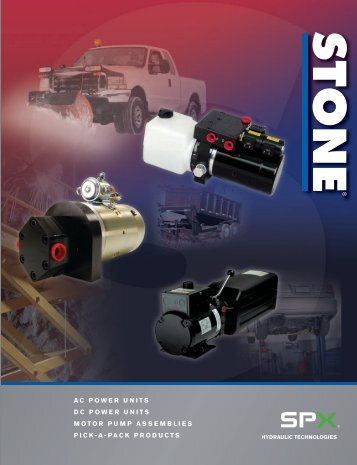 Product Catalogue - PT Hydraulics