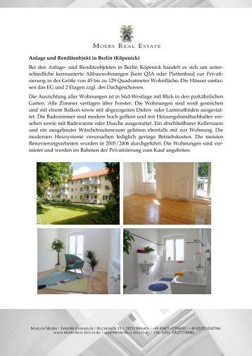 Wohnungen Berlin Kopenick