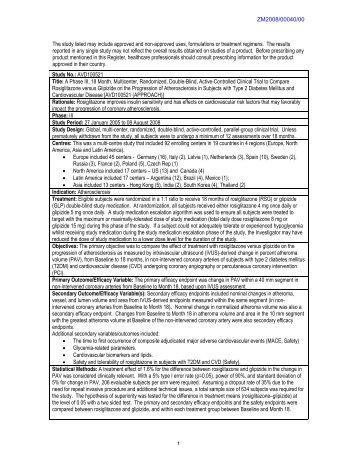 GSK Clinical Study Register (Gsk-clinicalstudyregister.com ...