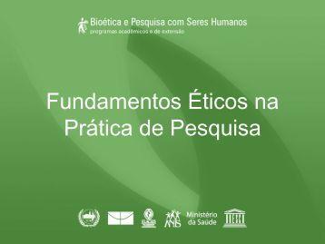 Fundamentos Éticos na Prática de Pesquisa - Anis