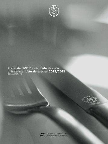 Lista de precios 2012/2013 - Mono