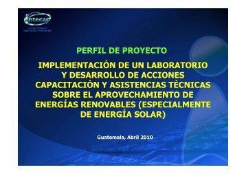 APROVECHAMIENTO ENERGÍAS RENOVABLES - CubaEnergia